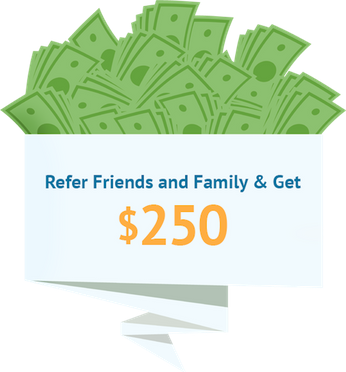 Refer Friends And Family & Get $250